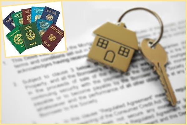 Документы, ключи от дома и паспорта иностранцев