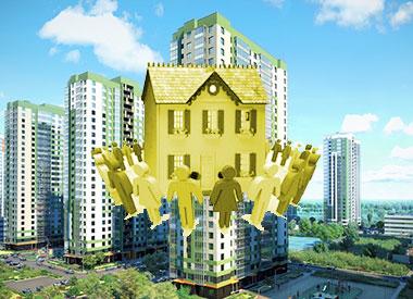 Многоквартирные дома и забота людей