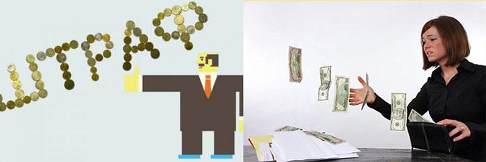 Штраф деньги улетают из кошелька