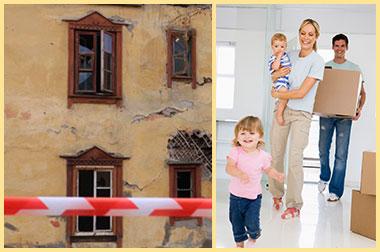 Аварийное жилье и переезд семьи