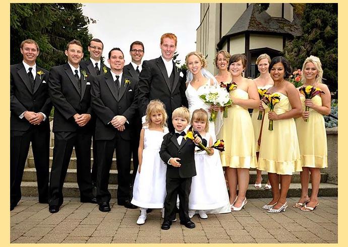 Свадьба и гости