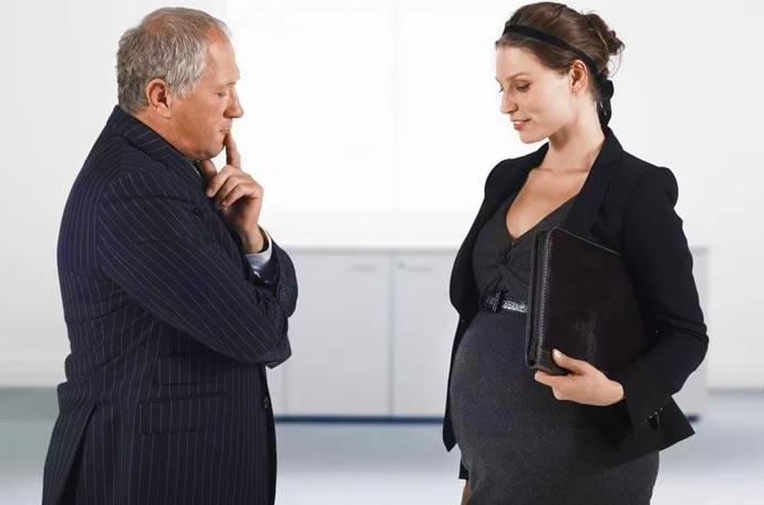 Беременность и прием на работу