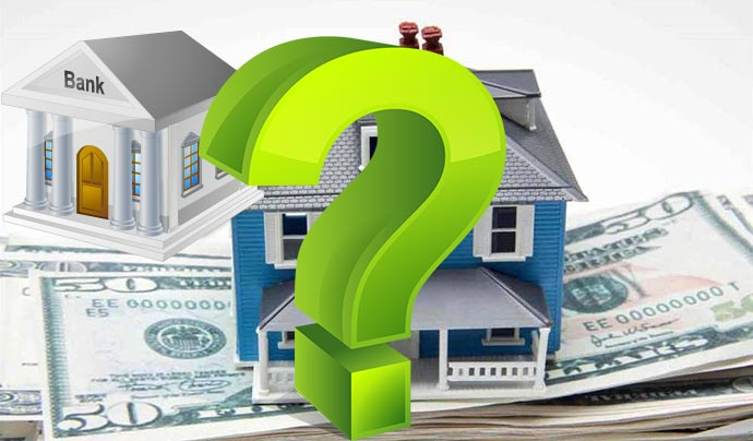 Деньги, дом, банк и вопрос