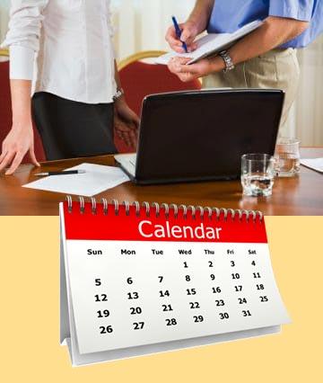 Календарь и подсчет компенсации