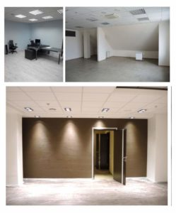 Фактические фото ремонта офиса