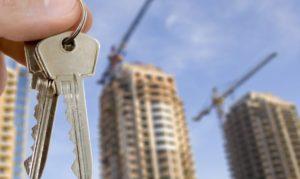 Получаем ключ квартиры в новостройке