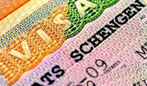 Бланк визы шенгенской
