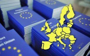 Карта стран ЕС