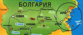 Рисованная карта