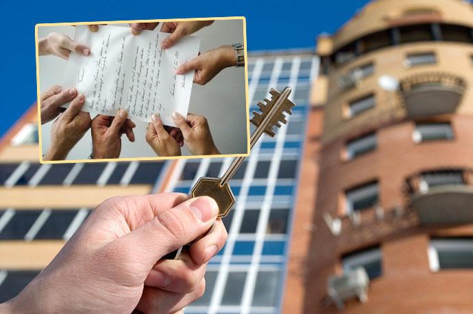 Квартиры ключ и документ