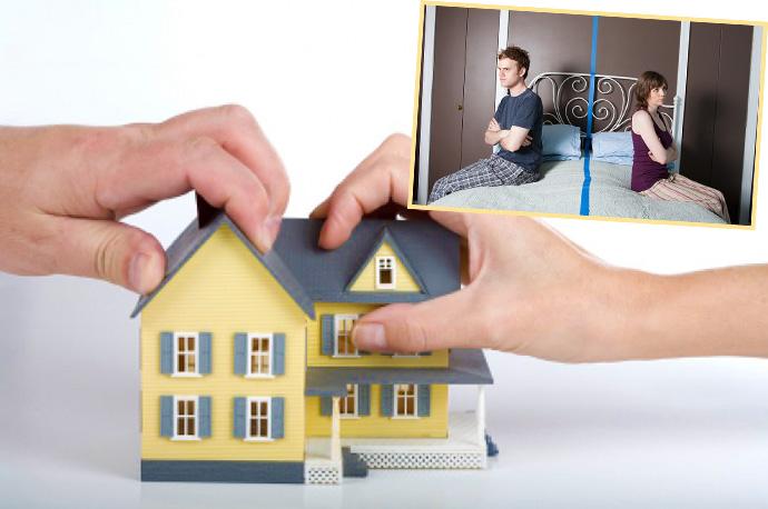Развод и совместное жилье