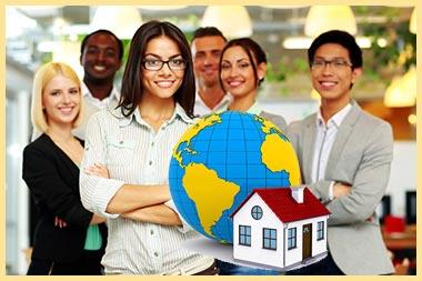 Иностранцы, голбус и дом