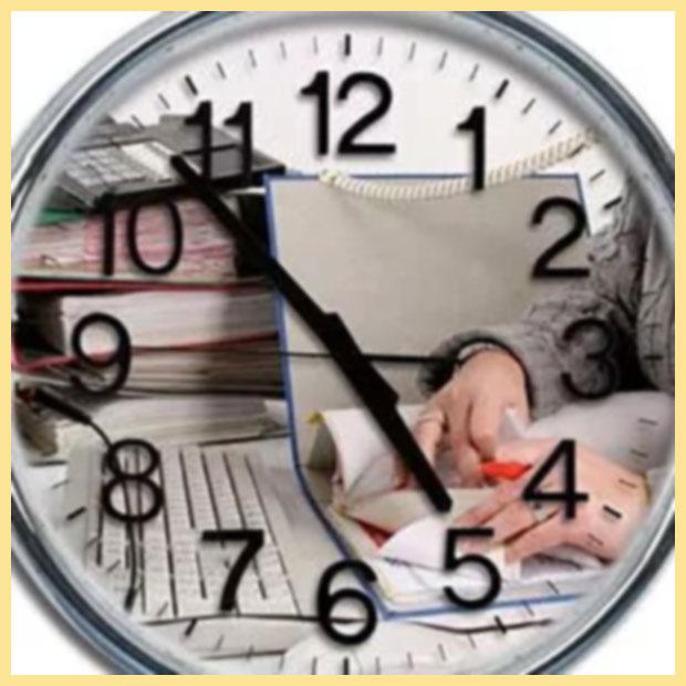 Время и работа