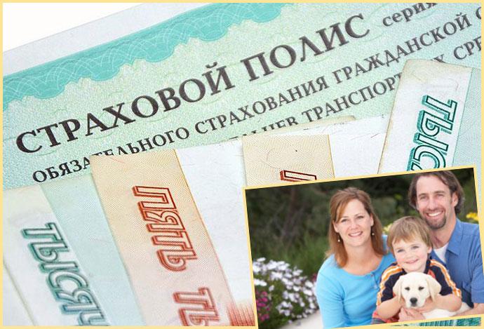 Страховой полис и семья