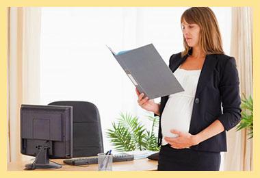 Беременная женщина и увольнение