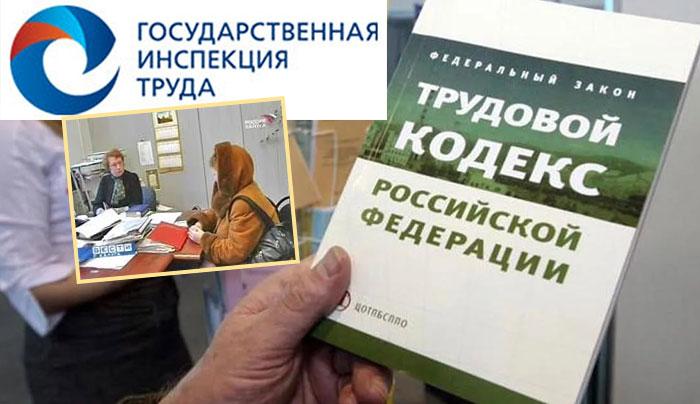 Государственная инспекция по труду подача заявления