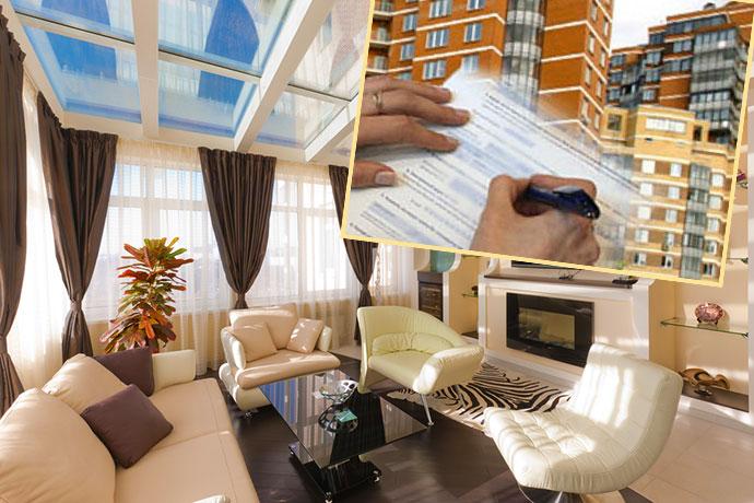 Комната квартиры и составление договора