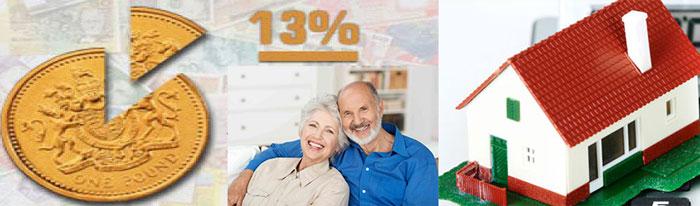 Пенсионеры, 13% и домик