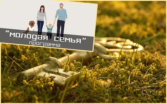 Ключ в траве и пограмма молодая семья
