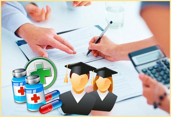 Лекарства, учеба и оформление вычета