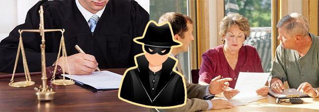Сделка, суд и мошеник