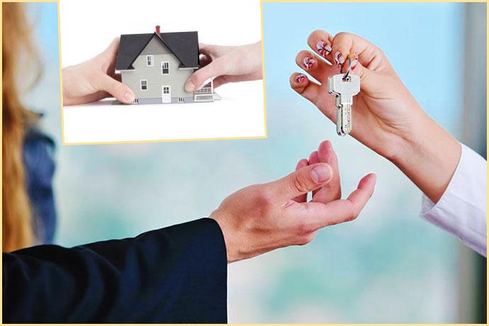 Передача дома и ключей
