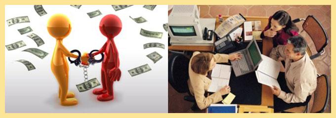 Обратиться в банк за кредитом и взять поручителя