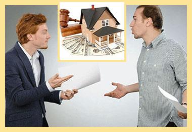 Мужчины спорят, покупка жилья