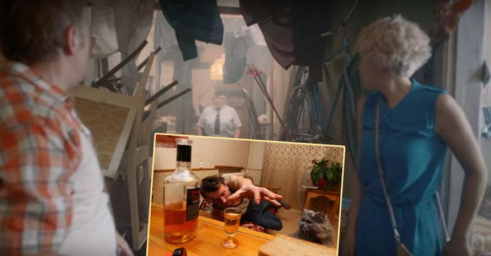 Комунальное жилье и алкоголизм