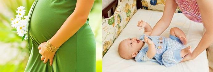 Беременность и уход за ребенком