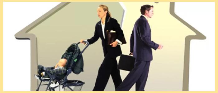 Разъезд супругов после развода