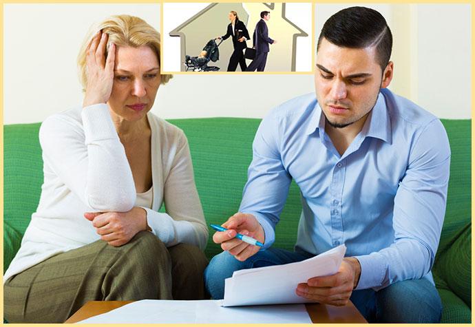Развод выселение и переговоры