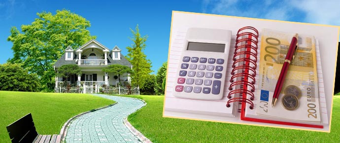 Земельный участок, калькулятор и деньги