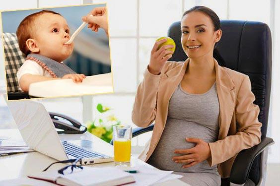Беременная сотрудница и уход за ребенком