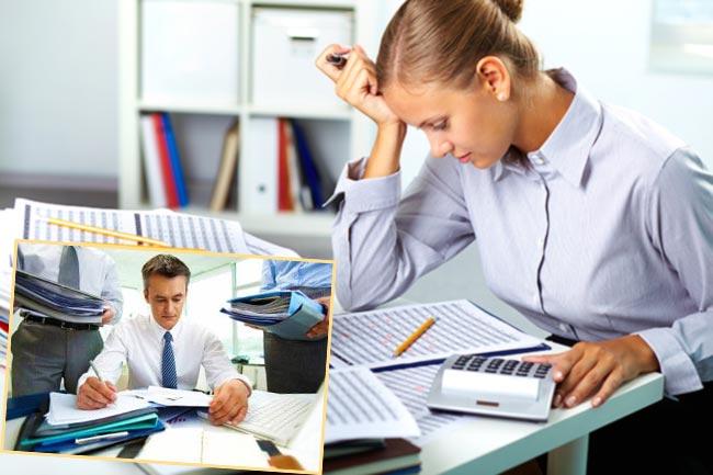 Подсчет материального ущерба, проверка документов