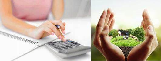 Расчет на калькуляторе и продажа участка или дачи
