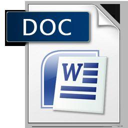 word иконка doc