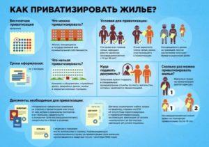 Инфографика о приватизации