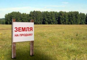 Реализация земель