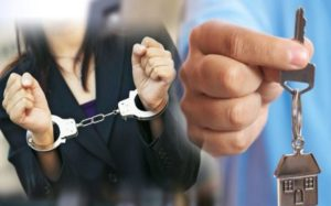 В наручниках мошенники