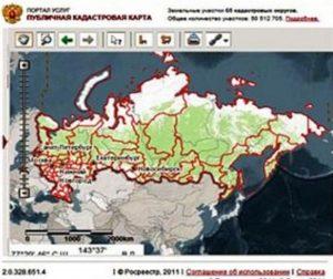 Сервис для доступа к кадастрам РФ
