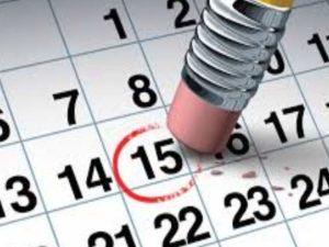 Календарь кредита