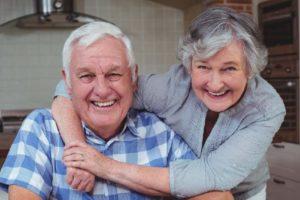 Радостные пенсионеры