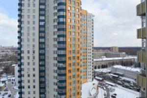 Высотка с квартирами