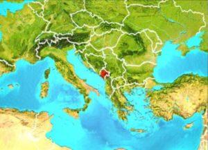 Черногория в Европе