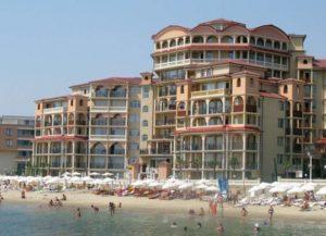 Побережье моря в Болгарии
