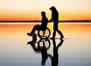 Прогулка для инвалида